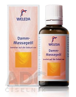 WELEDA Olej na masáž hrádze