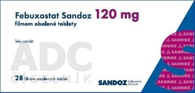 Febuxostat Sandoz 120 mg