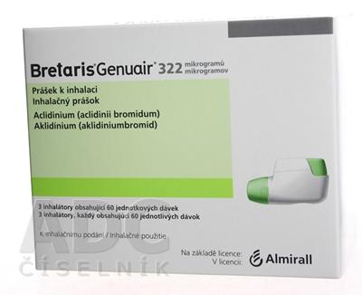 Bretaris Genuair 322 mikrogramov inhalačný prášok
