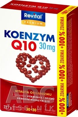Revital KOENZÝM Q10 30 mg + VITAMÍN E + SELÉN