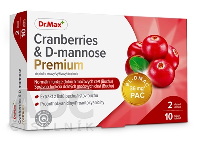 Dr.Max Cranberries & D-mannose Premium