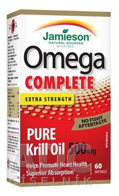 JAMIESON OMEGA COMPLETE PURE KRILL OIL