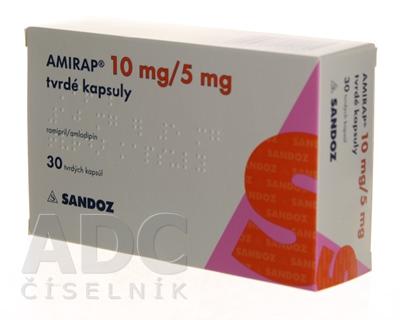 AMIRAP 10 mg/5 mg tvrdé kapsuly