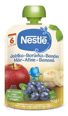 Nestlé Jablko Čučoriedka Banán