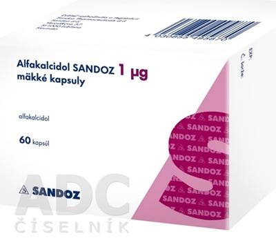 Alfakalcidol SANDOZ 1 µg mäkké kapsuly