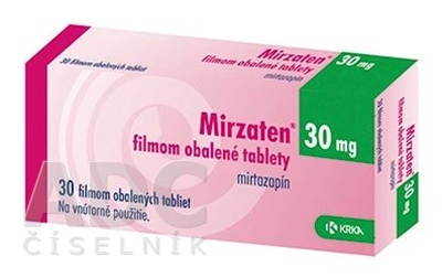 Mirzaten 30 mg