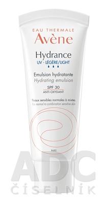 AVENE HYDRANCE UV-LÉGÈRE EMULSION SPF30