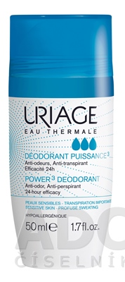 URIAGE DEODORANT POWER3 ROLL-ON
