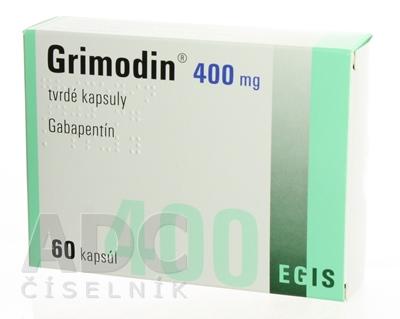 Grimodin 400 mg tvrdé kapsuly
