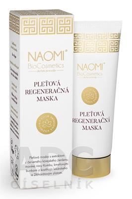 NAOMI BioCosmetics Pleťová regeneračná maska
