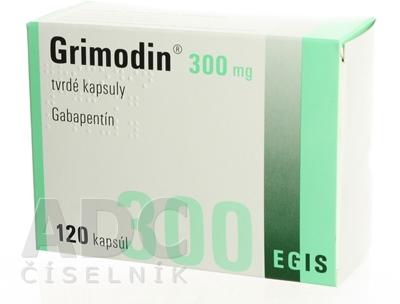 Grimodin 300 mg tvrdé kapsuly