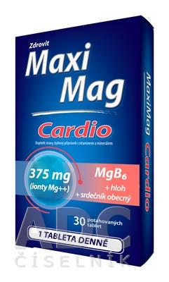 Zdrovit MaxiMag CARDIO Mg 375 mg + B6