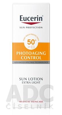 Eucerin SUN PHOTOAGING CONTROL SPF 50+ mlieko
