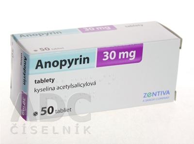 Anopyrin 30 mg
