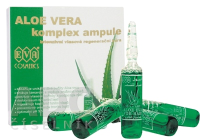 EVA Aloe Vera regeneračné ampule