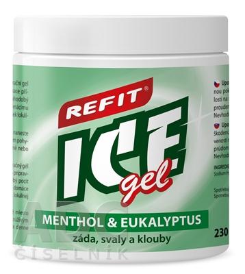 REFIT ICE GEL MENTOL EUKALYPTUS