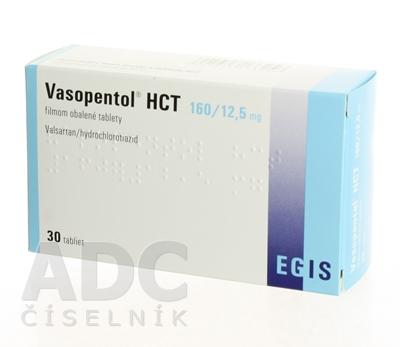 Vasopentol HCT 160/12,5 mg