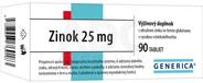 GENERICA Zinok 25 mg