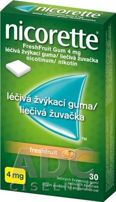 Nicorette Freshfruit Gum 4 mg