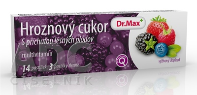 Dr.Max HROZNOVÝ CUKOR multivitamín