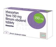 Irbesartan Teva 150 mg filmom obalené tablety