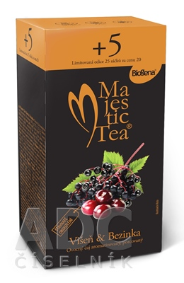 Majestic Tea Višňa & Baza