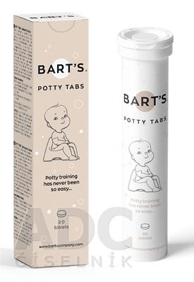 BART´S POTTY TABS - tablety do nočníka