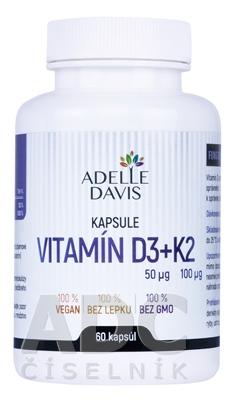 ADELLE DAVIS VITAMÍN D3+K2