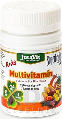 JutaVit Multivitamín s Lactobac. Rhamnosus Kids