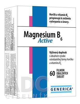 GENERICA Magnesium B6 Active