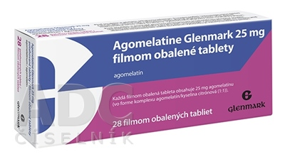 Agomelatine Glenmark 25 mg