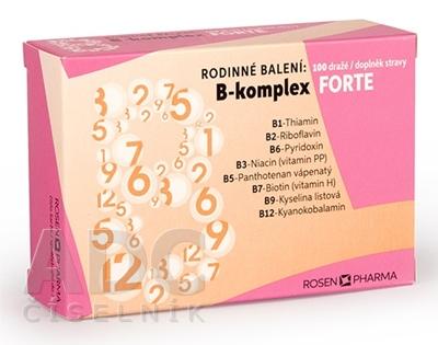 B - Komplex FORTE RODINNÉ balenie - RosenPharma