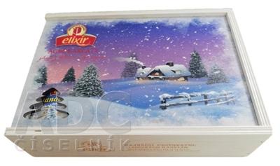 AGROKARPATY kazeta Elixír čajová, drevená Vianoce