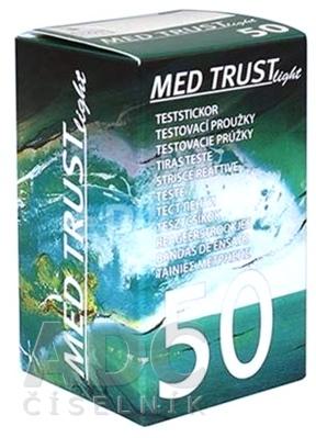 MED TRUST Light testovacie prúžky