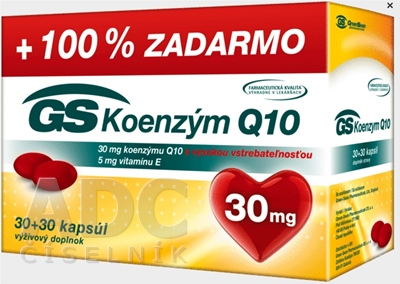 GS Koenzým Q10 30 mg