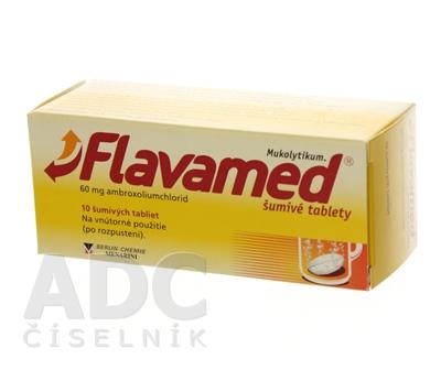 Flavamed šumivé tablety