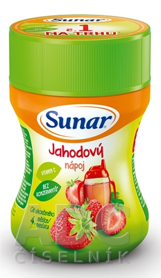 Sunar Rozpustný nápoj Jahodový
