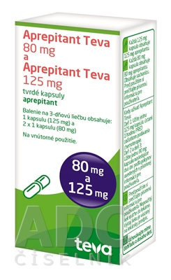 Aprepitant Teva 80 mg a Aprepitant Teva 125 mg