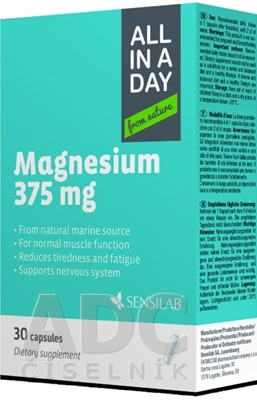 SENSILAB ALL IN A DAY Magnesium 375 mg