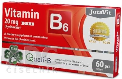 JutaVit Vitamín B6 20 mg