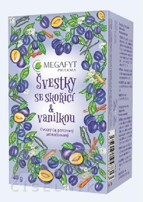 MEGAFYT SLIVKY so škoricou & vanilkou