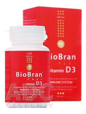 BioBran Plus vitamín D3