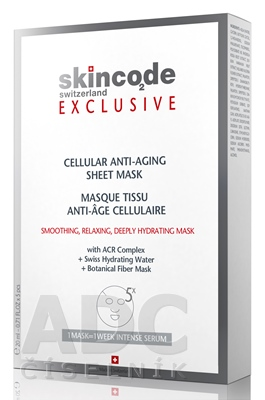 SKINCODE EXCLUSIVE Cellular Anti-Aging sheet mask