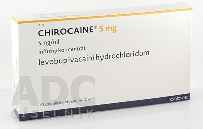 CHIROCAINE 5 mg/ml