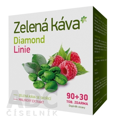 Zelená káva Diamond Linie