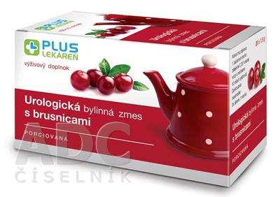 PLUS LEKÁREŇ Urologická bylinná zmes s brusnicami