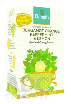 Dilmah BERGAMOT ORANGE PEPPERMINT & LEMON