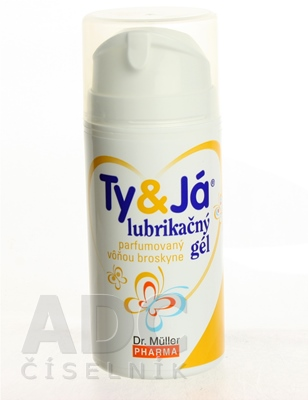 Dr. Müller TY&JÁ LUBRIKAČNÝ GÉL parfumovaný