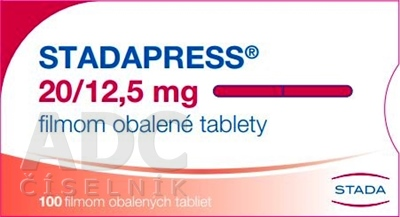 STADAPRESS 20/12,5 mg