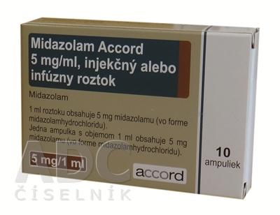 Midazolam Accord 5 mg/ml